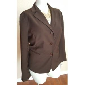 Talbots Wool Blazer Jacket Career Office Work